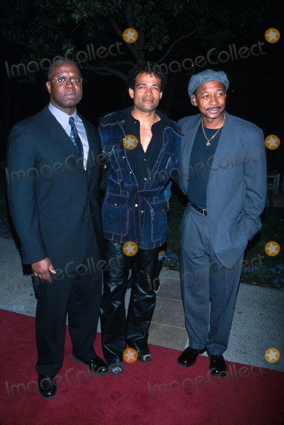 "Andre Braugher, Mario Van Peebles, Robert Townsend Photo - : 2/12/02 the Film Premiere of ""10,000 Black Men Named George"" at the Paramount Theater in Los Angeles, CA. Andre Braugher with Mario Van Peebles and Robert Townsend Photo by Milan Ryba/Globe Photos, Inc."