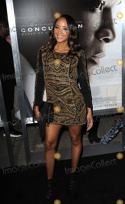 """Azja Pryor Photo - Azja Pryor attending the Los Angeles Premiere of """"Concussion"""" Held at the Regency Village Theater in Westwood, California on November 23, 2015 Photo by: David Longendyke-Globe Photos Inc."""