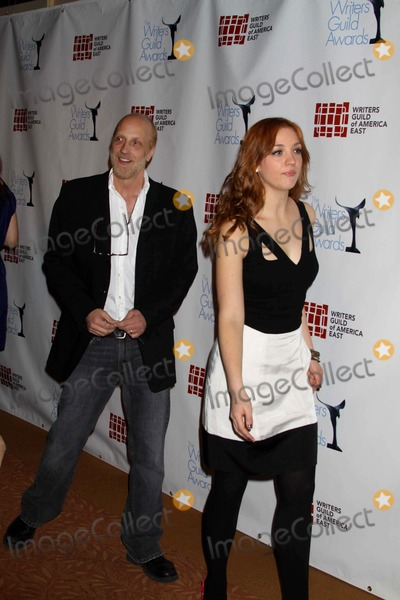 Abby Elliott, Chris Elliott, (+44), +44 Photo - Chris Elliott Abby Elliott at the 62nd Writers Guild Awards at Hudson Theatre NYC. W.44st 2-20-10 Photos by John Barrett Globe Photos,inc2010