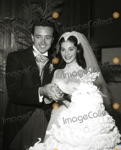 Pier Angeli, Vic Damone Photo - Vic Damone and Pier Angeli Wedding Photo: Larry Barbier Jr/Globe Photos Inc