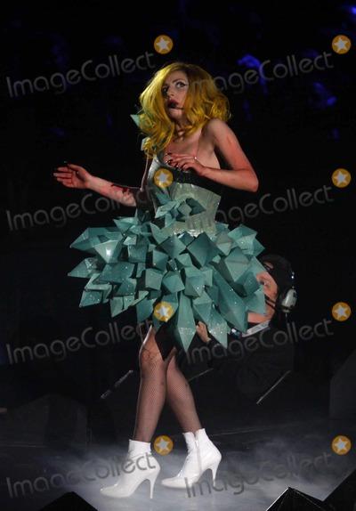 Lady GaGa Photo - Lady Gaga Concert Taping For Hbo at Madison Square Garden, New York City 02-21-2011 photo by John Barrett-globe Photos, Inc.2011